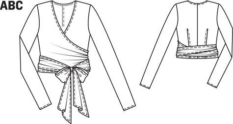 Wrap Sweater 01/2012 #116A
