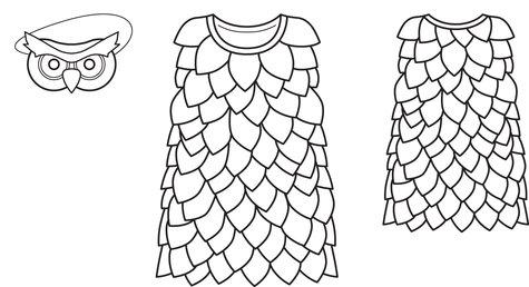 owl costume 01 2013 145 sewing patterns burdastyle com