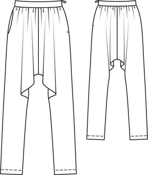 Harem Pants 09/2010 #131 – Sewing Patterns | BurdaStyle.com