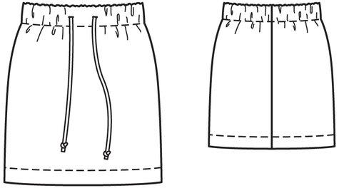 Easy Drawstring Skirt 03/2011 #129