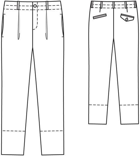 Men's Linen Pants 04/2014 #129