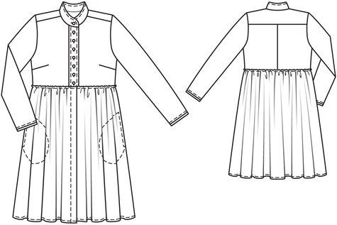 Prairie Shirt Dress 04/2011 #107