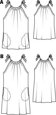 Halter Dress with Pockets 06/2011 #113B