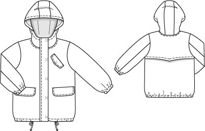 Drawstring Jacket With Hood 09 2014 119 Sewing Patterns