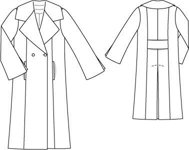 Mid-Calf Length Maxi Coat 01/2015 #131