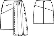 Draped Mini Skirt 02/2015 #126