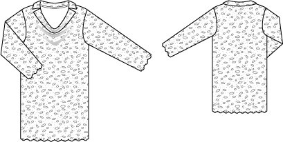 Cowl Lace Dress 02/2015 #102