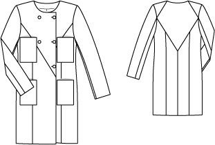 Double Breasted Coat 02/2015 #120