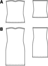 Tube Dress 06/2015 #104B