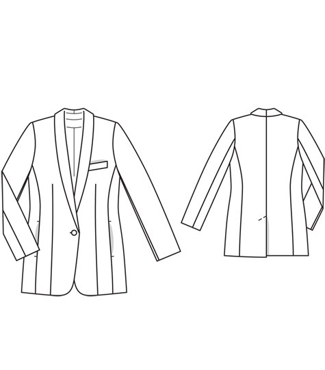 Boyfriend Blazer (Plus Size) 04/2012 #133 – Sewing Patterns ...