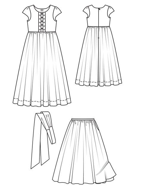 Girls Petticoat Dress 02/2011 #143