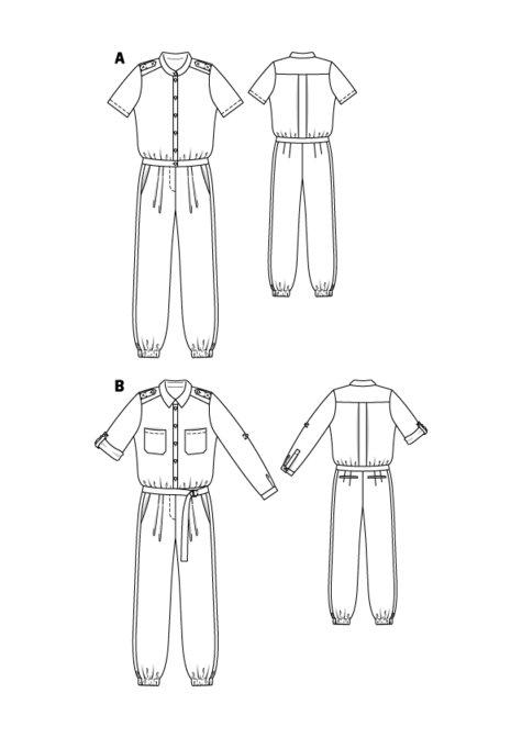 Short Sleeve Jumpsuit 02/2016 #110A