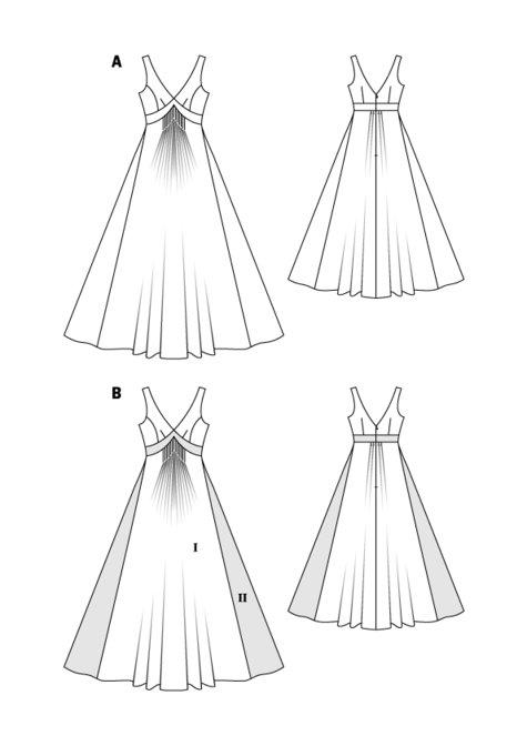 Boho Maxi Dress 04/2016 #101B – Sewing Patterns | BurdaStyle.com