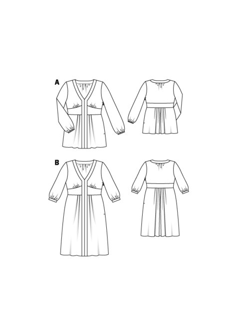 Tunic Blouse (Plus Size) 08/2016 #132A