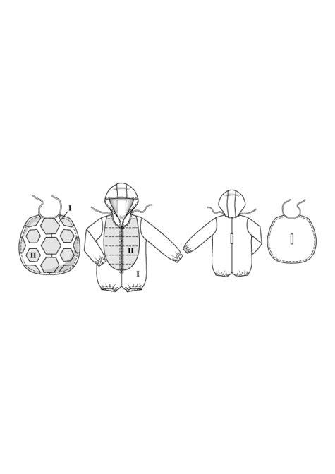 Kid\'s Turtle Costume 01/2016 #141 – Sewing Patterns | BurdaStyle.com