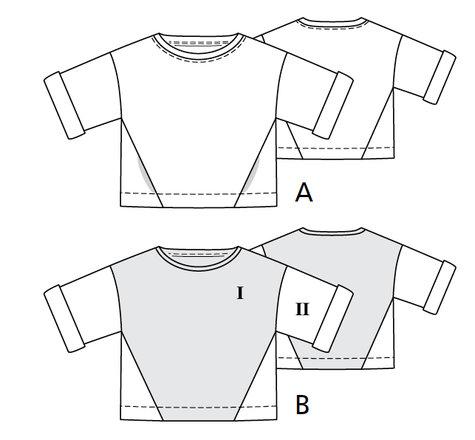 Easy Sweatshirt 6060 60A Sewing Patterns BurdaStyle Delectable Sweatshirt Pattern