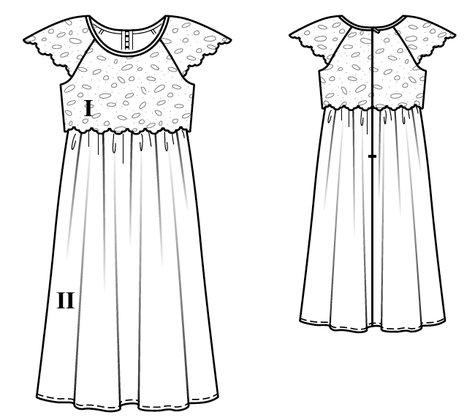 Girl's Maxi Dress 02/2017 #126