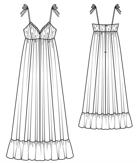 Tiered Maxi Dress 03/2017 #104