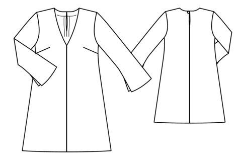 3/4 Sleeve Shift Dress 03/2017 #112 – Sewing Patterns | BurdaStyle.com