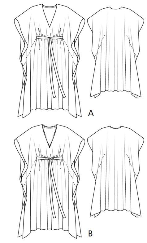 Kaftan 07/2017 #105B – Sewing Patterns | BurdaStyle.com