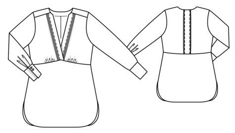 V-Neck Tunic (Plus Size) 10/2018 #127