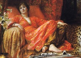 Leila_1892_by_frank_dicksee_show