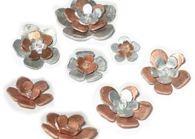 Layered_copper_and_silver_flowers_show
