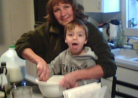 Cory_and_grandma_making_pancakes_show