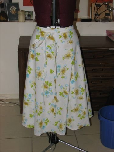 Wrap Around Skirt – Sewing Projects | BurdaStyle.com