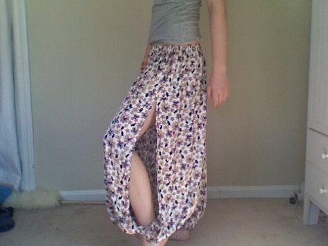 Slitted Harem Pants – Sewing Projects | BurdaStyle.com