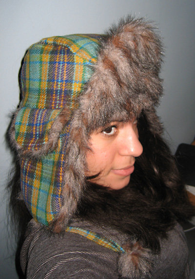 Plaid Trapper Hat – Sewing Projects | BurdaStyle.com