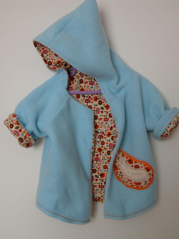 Baby Hooded Fleece Jacket
