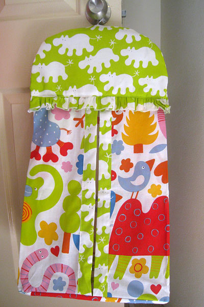 Fun Animal Nappy Stacker Sewing Projects Burdastyle