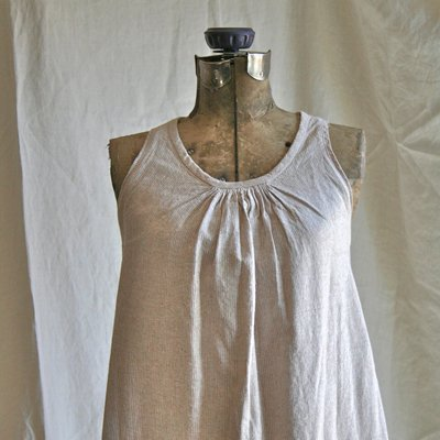 Simple Linen Trapeze Dress Sewing Projects Burdastyle