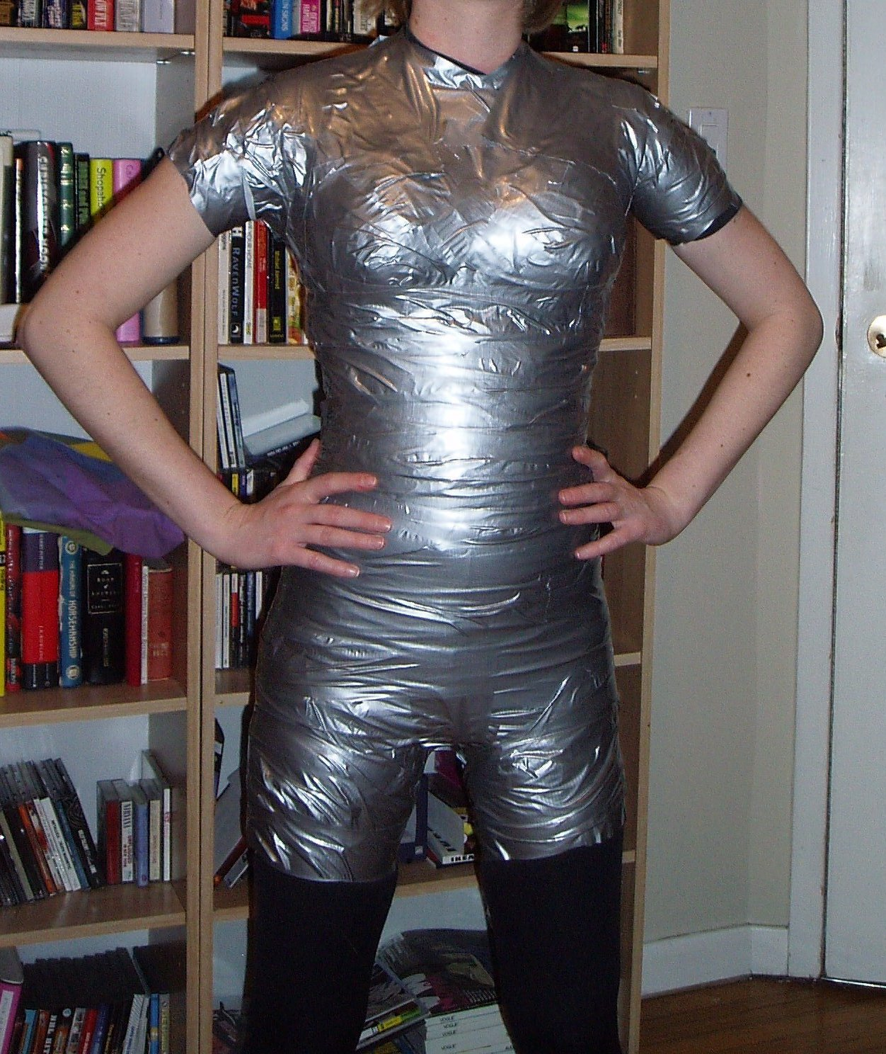 My Version Of The Duct Tape Dress Form Sewing Projects