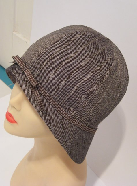 cloche hat 1930s vintage – Sewing Projects   BurdaStyle.com