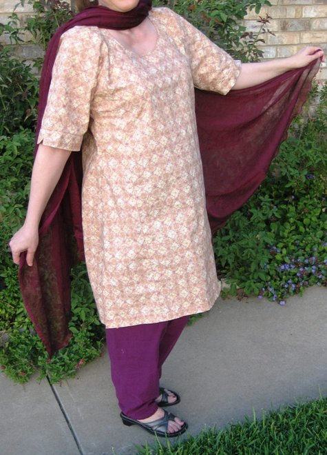 Indian Salwar Kameez – Sewing Projects | BurdaStyle.com