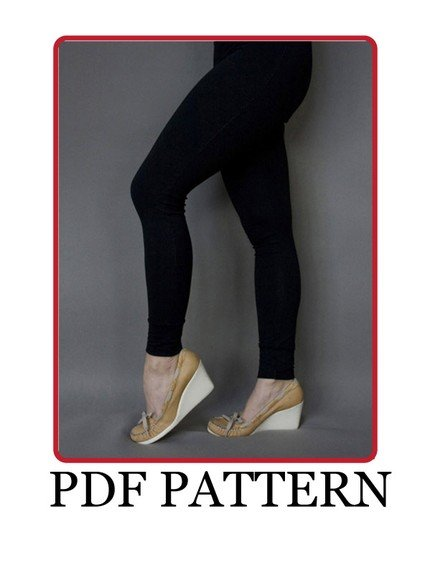 Basic Leggings PDF pattern – Sewing Projects | BurdaStyle.com