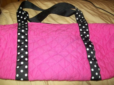 ef48d5e148e5 Pink Girly Duffle Bag – Sewing Projects