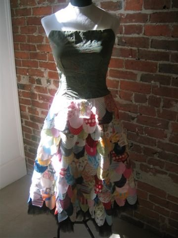 Scrap Fabric Dress Sewing Projects Burdastyle Com