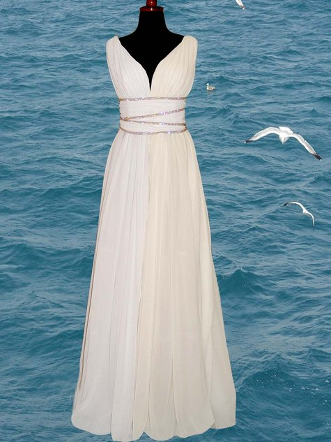 Grecian Style Dress Sewing Projects Burdastyle Com