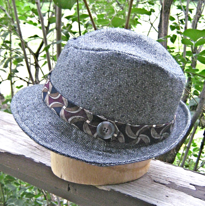 Secret Agent Fedora Sewing Projects Burdastyle