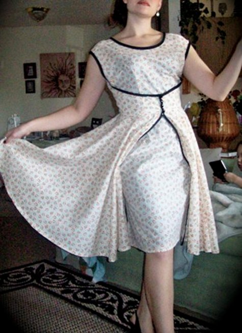 Vintage Wrap Dress Sewing Projects Burdastyle Com