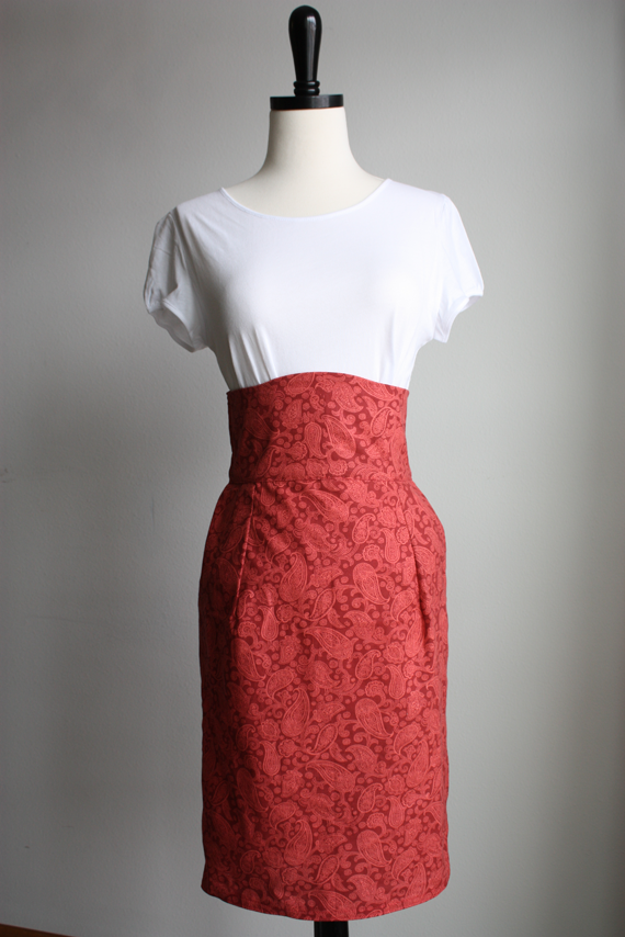 High Waist Pencil Skirt – Sewing Projects   BurdaStyle.com