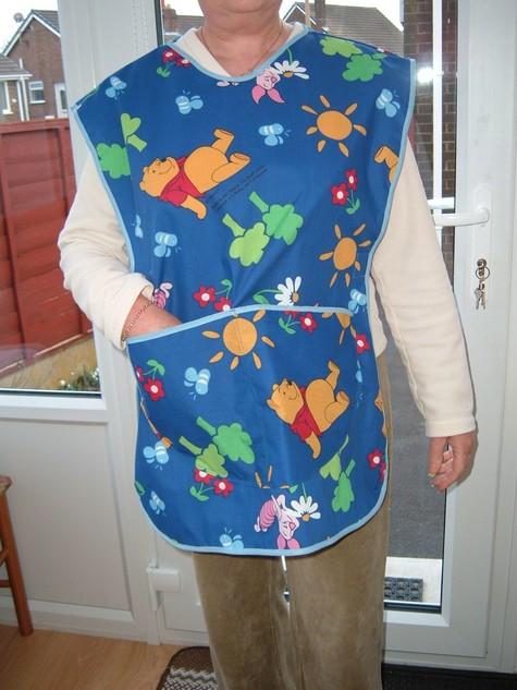 Nursery nurse tabard – Sewing Projects | BurdaStyle.com