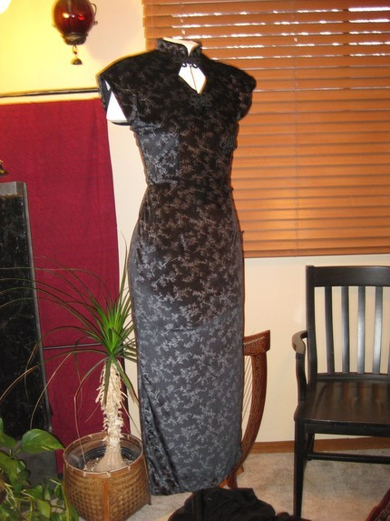 91d7d2facdb Asian Inspired Dress – Sewing Projects