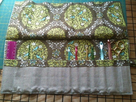 Crochet Hook Case – Sewing Projects | BurdaStyle.com