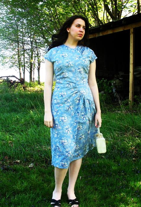 945a55e574f2 1940 s Summer Dress – Sewing Projects
