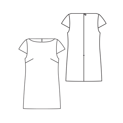 how to make a shift dress pattern