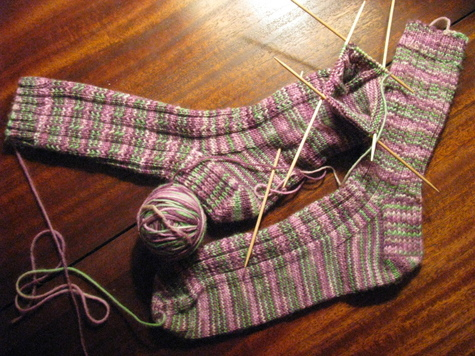 Knitting Socks For Beginners Sewing Projects Burdastyle Com